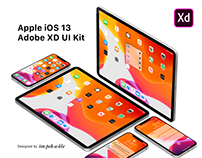 Apple iOS 13 Adobe XD UI Kit