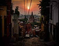 Time Lapse Sunrise in San Miguel de Allende