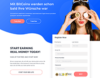 Trading Platform Web Design
