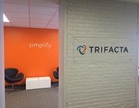 Trifacta - Plexiglas/vinyl sign project