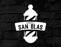 Logotipo de Barbería SAN BLAS