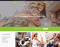 Diseño web para ¨Vesping¨