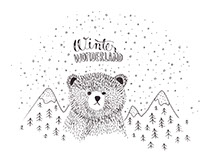 Winter Wonderland Illustration