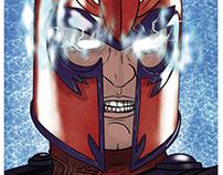 Magneto Digital Illustration