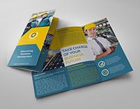 Company Brochure Tri-Fold Brochure Vol.21