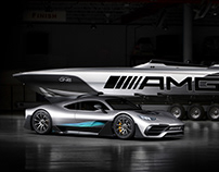 Mercedes-AMG: Cigarette Racing 515 Project ONE