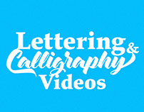 Lettering & Calligraphy Videos
