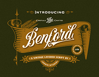 Benford Font Collections (with extras) | FREE DEMO