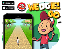 Wedgie Go Game UI and Promotional Work