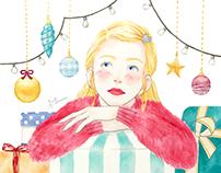 A Girl on Christmas Day