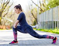 Fitness girl for Sporttime magazine