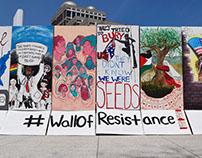 #WallofResistance- Installation
