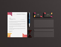 Clean & Modern Stationery Design
