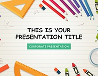 KINDERGARTEN POWERPOINT TEMPLATE KEYNOTE GOOGLE SLIDES