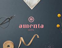 Amenta logo redesign