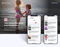 Memoriz iOS App Design