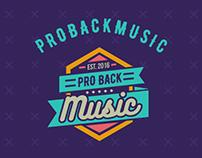 ProBackMusic - Branding