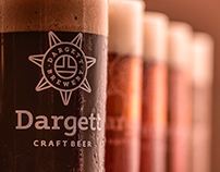 Beer menu design for Dargett Brewpub