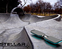 Stellar- The First Extreme Skating Hover Board