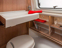 Motorhome Bathroom for Knaus-Tabbert GmbH