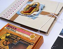 Cowboy/muñecas - Libro objeto // packaging