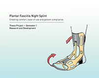 Plantar Fasciitis Night Splint - Thesis Development