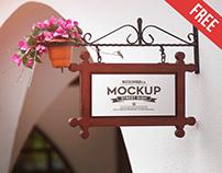 Street Sign – 4 Free PSD Mockups