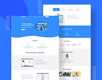Layup Website Design