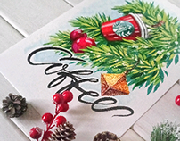 Marker sketch / Starbucks coffee