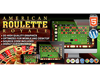 HTML5 Game: American Roulette Royale