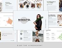 Nimato – Creative Fashion PresentationTemplate