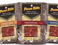 Pecos Bill's package design