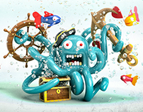 The Kraken | Ilustración 3D