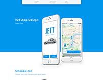 JETT APP / WEB DESIGN Project