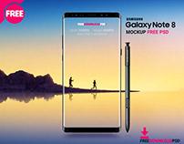 [Free Download] Samsung Note 8 Mockup