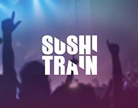 SUSHI TRAIN Logo - 2014
