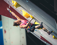Paris lead climbing world championships