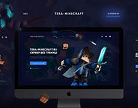 Веб-дизайн для проекта Terra-Minecraft.ru