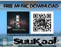 SuuKool RayTube QR Promo Flyer