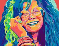 Janis Joplin Event Poster