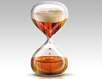 Beer Hourglass