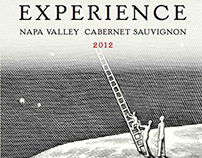 Experience Wine Label Illustration by Steven Noble