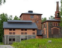 Axmar bruks hytta, Sweden