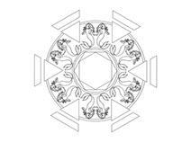 Mermaid Mandala