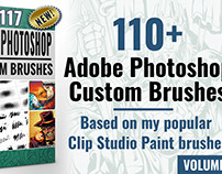 Adobe Photoshop Custom Brush Collection