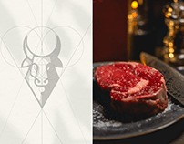 Luxury Bar & Steak restaurant Branding - Con Fuego