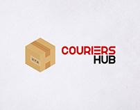Couriers Hub Logo Design