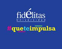 #QueTeImpulsa | FIdélitas Admisión 2016