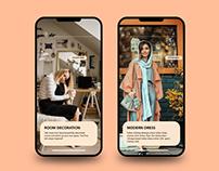 Dress App UI Inspiration