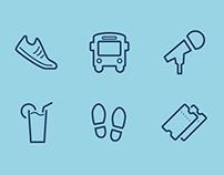 TUI Cruises - Meine Reise Iconography